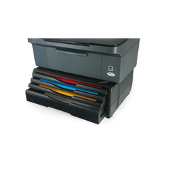 Support Imprimante/Moniteur Noir 4 tiroirs jusqu'à 20 Kg