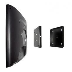Support Mural LCD noir jusqu'à 35Kg