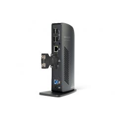 Station d'accueil universelle USB 3.0, avec VGA/DVI & Ethernet