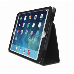 Comercio Soft Folio Case & Stand for iPad Air - tissu noir