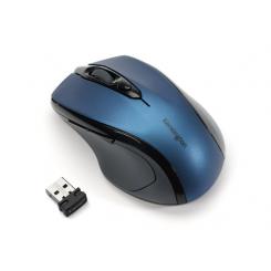 Souris optique sans fil Pro Fit 2.4Ghz - Taille moyenne- Bleu Saphir