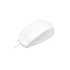 Souris étanche IP 68 5 boutons Combo Silicone Blanche