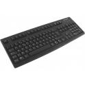Clavier standard NTK. 105 touches Noir USB