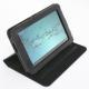 Folio Case for Samsung Tab 2  7.0 Black Leather