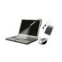 NOTEBOOK TRAVEL KIT (mini-souris USB + pavé + lampe USB)  KENSINGTON