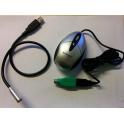 Kit mini-souris + lampe  KENSINGTON