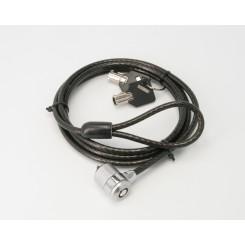 Câble de Sécurité pour slot antivol (simple verrou)