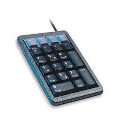 Pavé-Numérique mécanique 21 Touches, programmable Noir USB